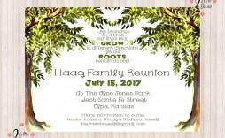 006 Impressive Free Family Reunion Flyer Template Word Idea