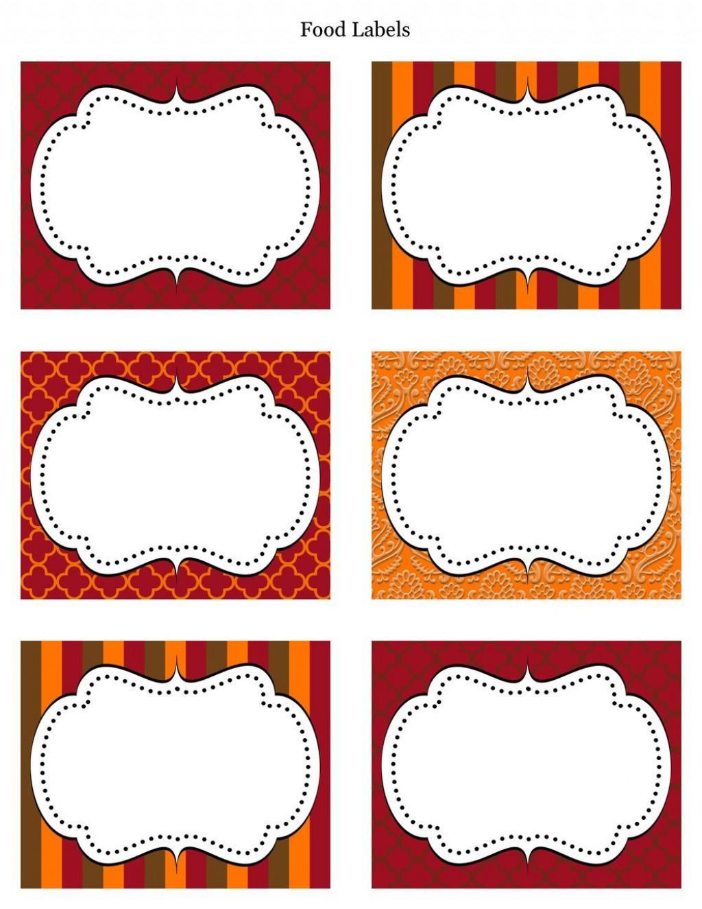 006 Impressive Free Food Label Design Template  Templates DownloadLarge