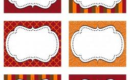 006 Impressive Free Food Label Design Template  Templates Download