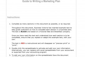 006 Impressive Free Marketing Plan Template Word Highest Quality  Digital Download