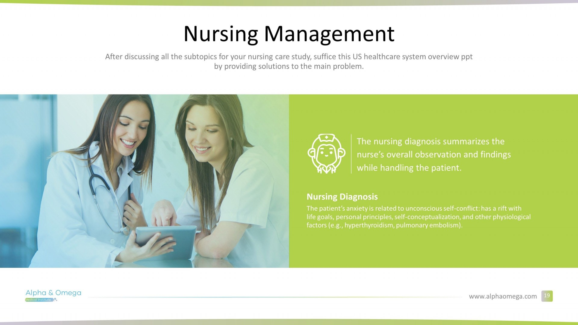 006 Impressive Free Nursing Powerpoint Template Highest Quality  Education Download1920