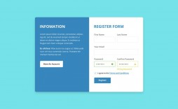 006 Impressive Free Registration Form Template High Resolution  Templates Responsive Bootstrap Download In Html Employee Cs