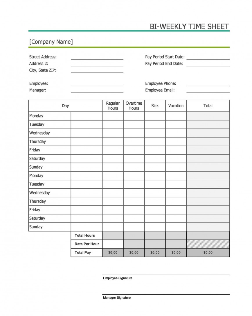 006 Impressive Free Weekly Timesheet Template Highest Quality  Bi Time Card For Multiple Employee Excel Download