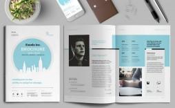 006 Impressive Indesign Brochure Template Free Image  Adobe Download Bi Fold Busines