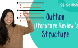006 Impressive Literature Review Outline Template Apa Highest Clarity  Style Example