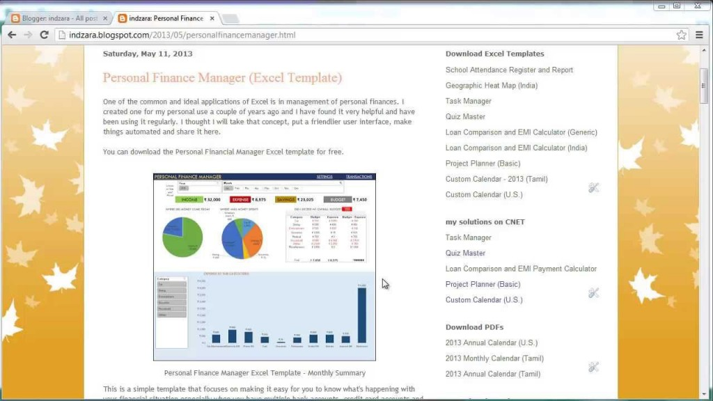 006 Impressive Microsoft Excel Personal Budget Template Highest Quality  MonthlyLarge