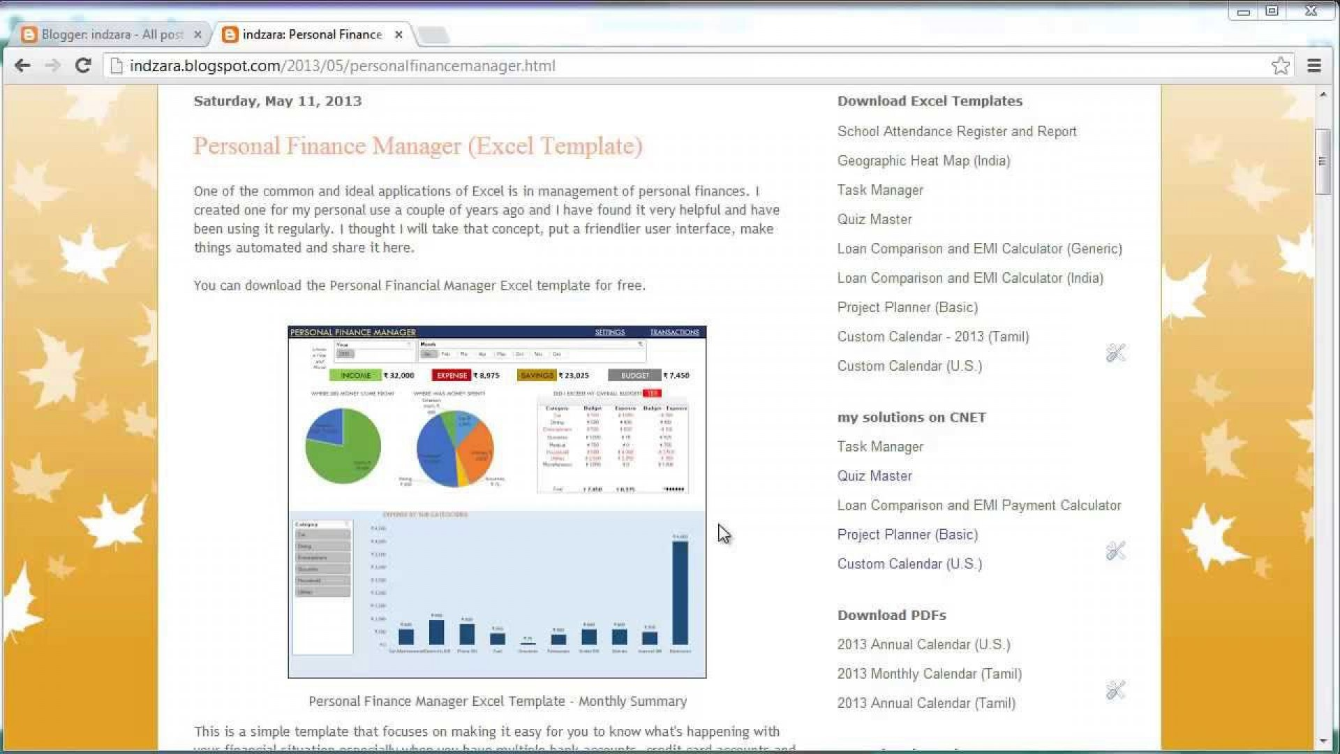 006 Impressive Microsoft Excel Personal Budget Template Highest Quality  Monthly1920