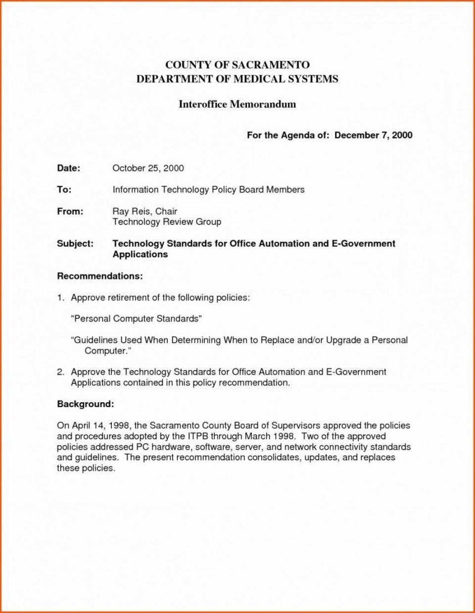 006 Impressive Microsoft Word Professional Memorandum Template Concept  Memo960