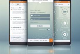 006 Impressive Mobile App Design Template Idea  Size Adobe Xd Ui Psd Free Download