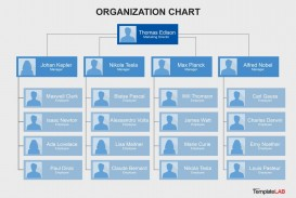 006 Impressive Organizational Chart Template Word Sample  Simple Free Download 2013 2010