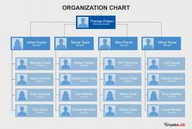 006 Impressive Organizational Chart Template Word Sample  2013 2010 2007