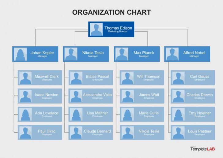 006 Impressive Organizational Chart Template Word Sample  2013 2010 2007728