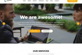 006 Impressive Professional Busines Website Template Free Download Wordpres Picture