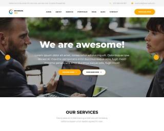 006 Impressive Professional Busines Website Template Free Download Wordpres Picture 320