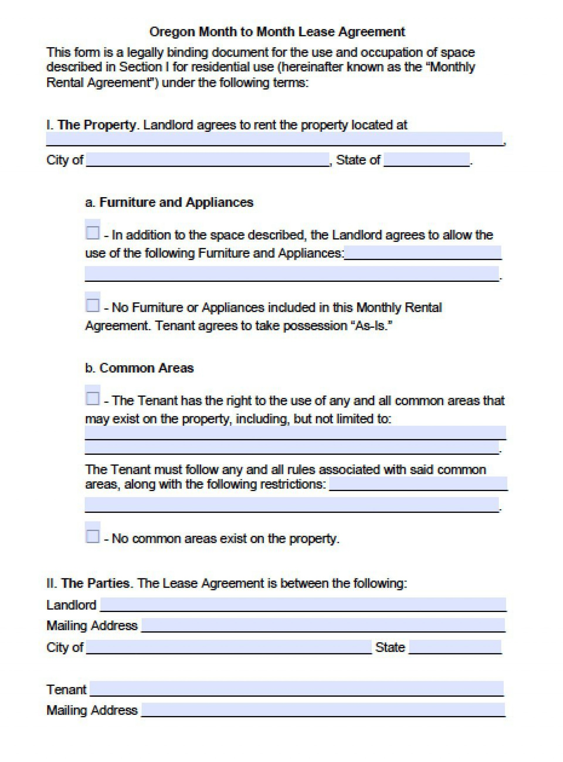 006 Impressive Renter Lease Agreement Form Example  Rent Format In Tamil Florida Rental Printable1920
