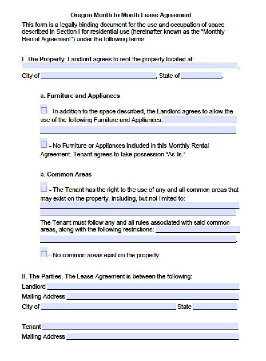 006 Impressive Renter Lease Agreement Form Example  Rent Format In Tamil Florida Rental PrintableFull