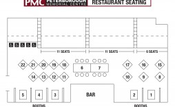 006 Impressive Restaurant Seating Chart Template Sample  Software Excel Word
