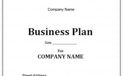 006 Impressive Startup Busines Plan Template Sample  Free Download Doc