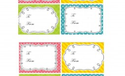 006 Impressive Template For Gift Tag Inspiration  Tags Blank Avery