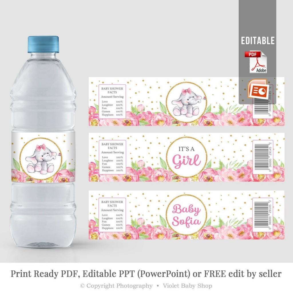 006 Impressive Water Bottle Label Template Concept  Free Printable Graduation WordLarge
