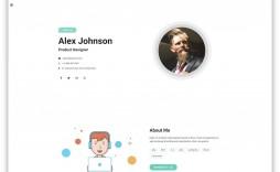 006 Impressive Web Developer Portfolio Template Idea  Templates Best Design Theme Free Wordpres