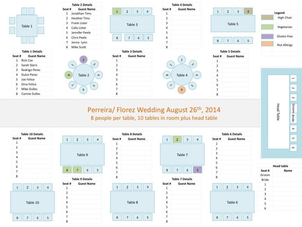 006 Impressive Wedding Seating Chart Template Excel Sample  Microsoft Table PlanLarge