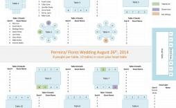 006 Impressive Wedding Seating Chart Template Excel Sample  Microsoft Table Plan