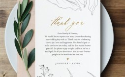 006 Impressive Wedding Thank You Note Template Highest Quality  Templates Shower Card Etsy Bridal Format
