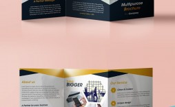 006 Incredible 3 Fold Brochure Template High Def  Templates For Free