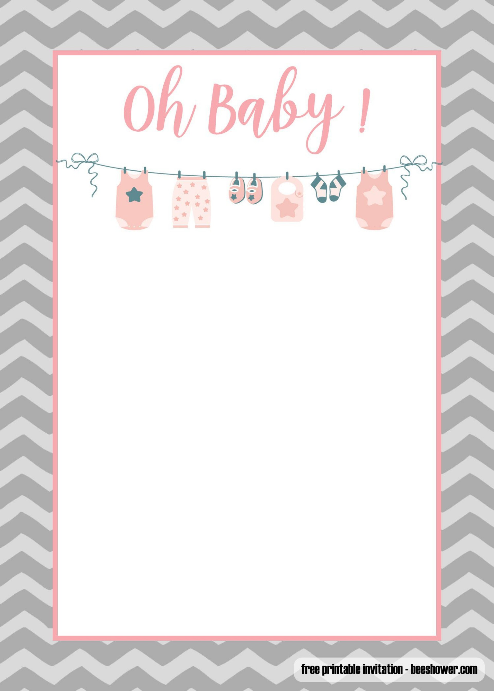 006 Incredible Baby Shower Invite Template Word High Definition  Invitation Wording Sample Free Example1920