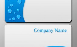 006 Incredible Blank Busines Card Template Psd Free Download Example  Photoshop