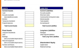 006 Incredible Busines Balance Sheet Template Example  Word Excel Small Sample