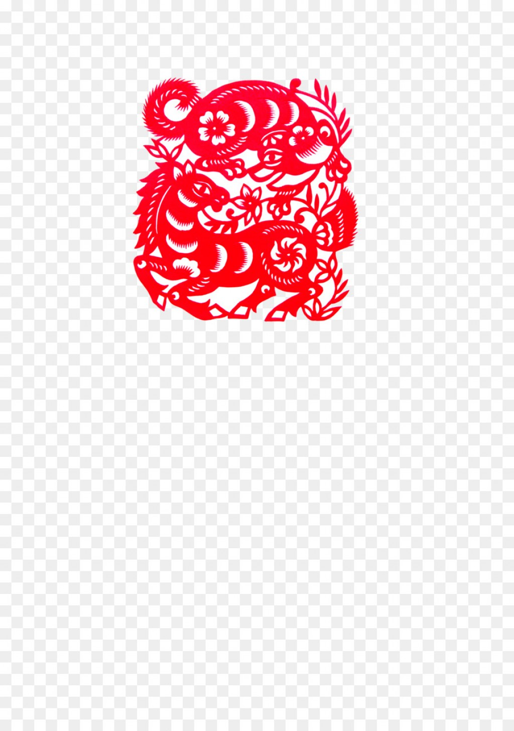 006 Incredible Chinese Paper Cutting Template Highest Clarity  Pdf DragonLarge