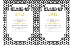 006 Incredible Diy Graduation Announcement Template Free Design  Invitation