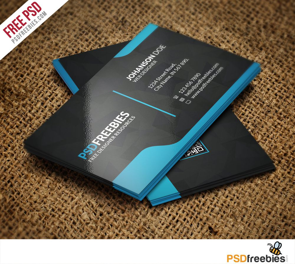 006 Incredible Download Busines Card Template Picture  For Microsoft Publisher Adobe Illustrator Visiting PsdFull
