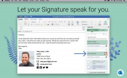 006 Incredible Email Signature Format For Outlook Design  Template Microsoft 2007 Creating An
