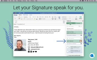 006 Incredible Email Signature Format For Outlook Design  Example Template Microsoft320