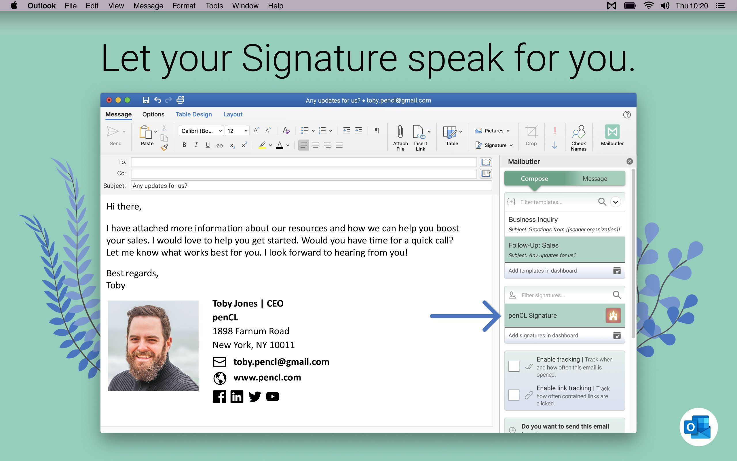 006 Incredible Email Signature Format For Outlook Design  Example Template MicrosoftFull
