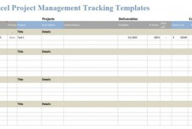 006 Incredible Excel Template Project Management Inspiration  Portfolio Dashboard Multiple Free