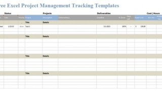 006 Incredible Excel Template Project Management Inspiration  Portfolio Dashboard Multiple Free320