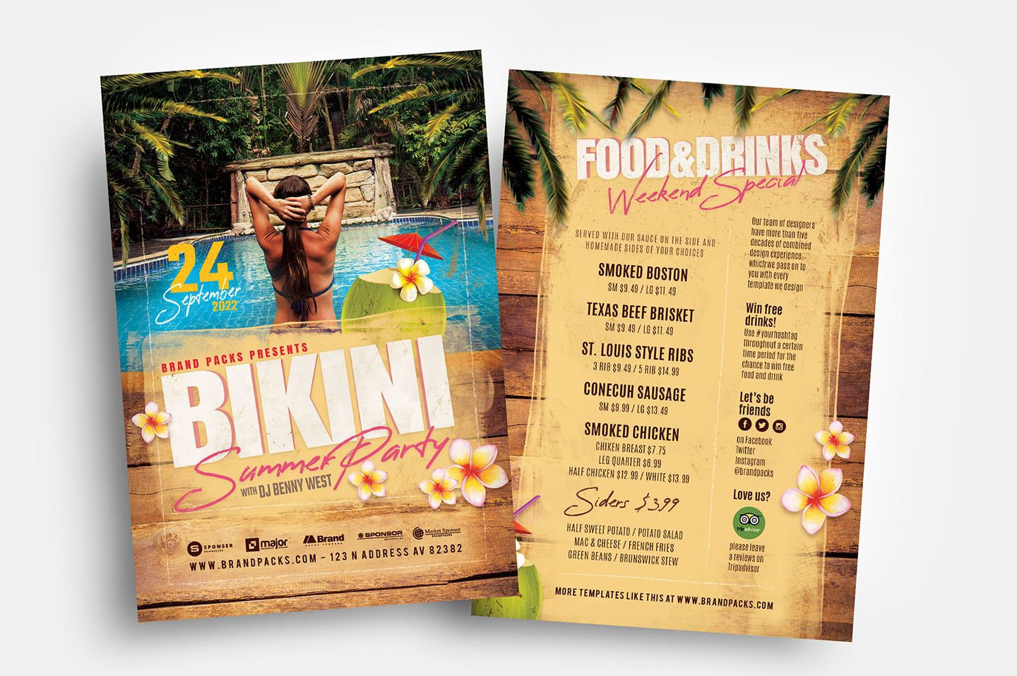 006 Incredible Free Party Flyer Template For Mac High Definition Full