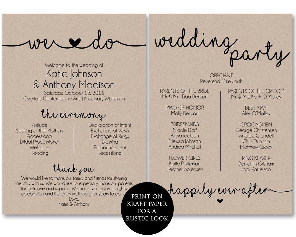 006 Incredible Free Printable Wedding Program Template Inspiration  Templates Microsoft Word IndianFull