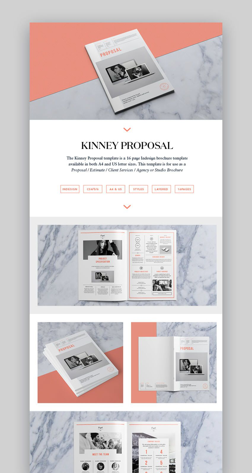 006 Incredible Graphic Design Proposal Template Indesign High Def  FreeFull