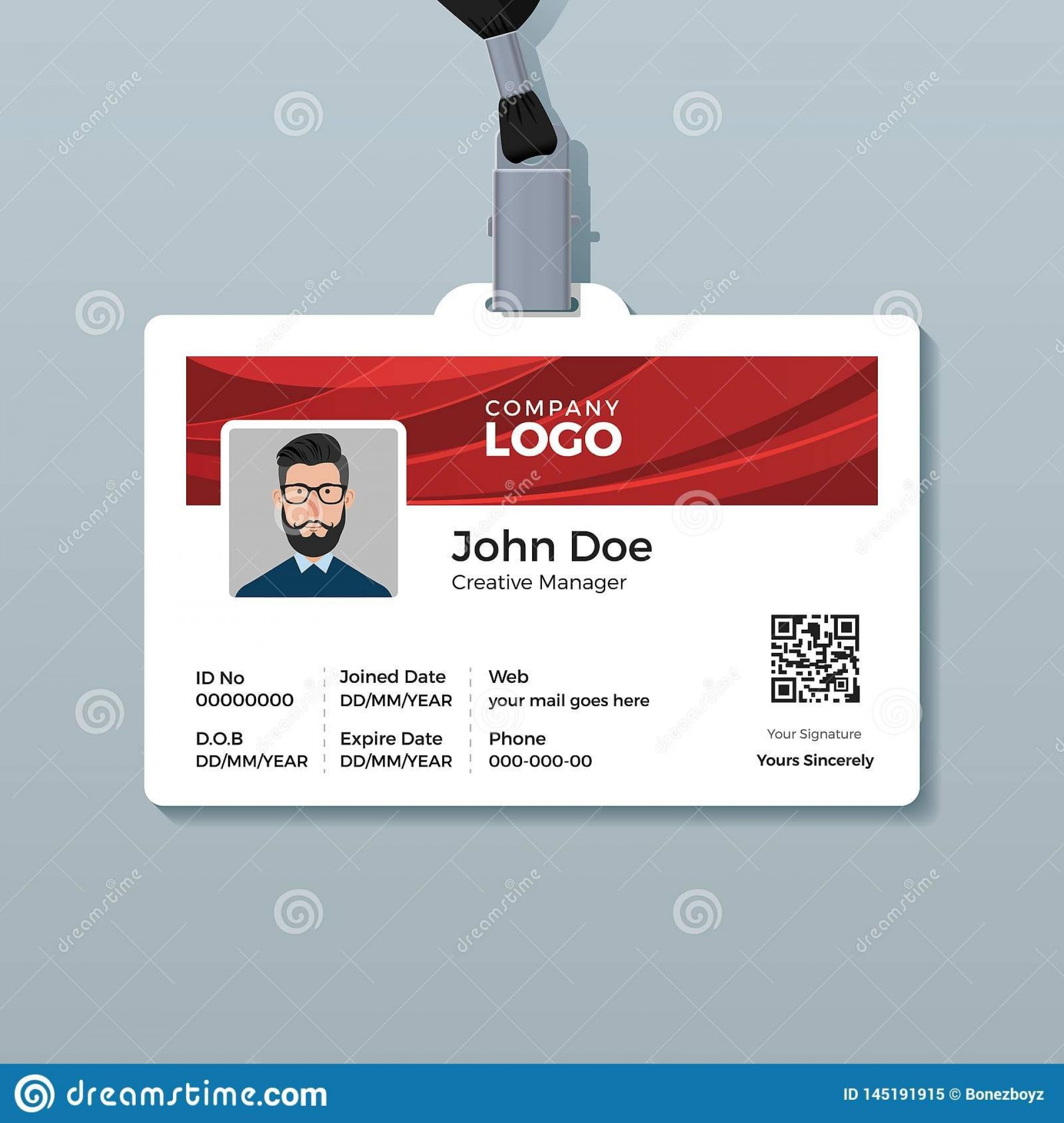 006 Incredible Id Card Template Free Download Concept  Design Photoshop Identity Student Word1920