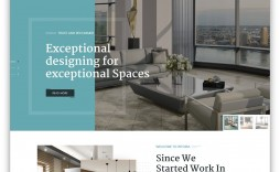 006 Incredible Interior Design Website Template Image  Templates Company Free Download Html