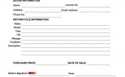 006 Incredible Motorcycle Bill Of Sale Template Image  Ontario Printable Word California