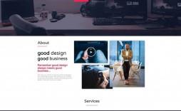 006 Incredible One Page Website Template Free Download Wordpres High Def  Wordpress
