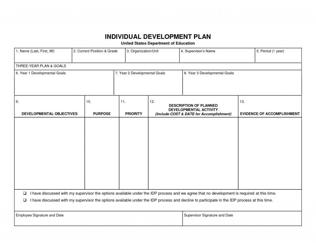 006 Incredible Personal Development Plan Example Professional Doc Inspiration Full