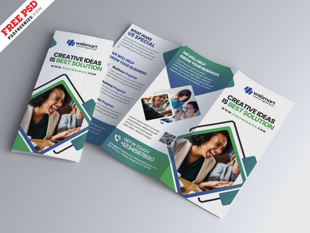 006 Incredible Photoshop Brochure Template Psd Free Download Picture Large
