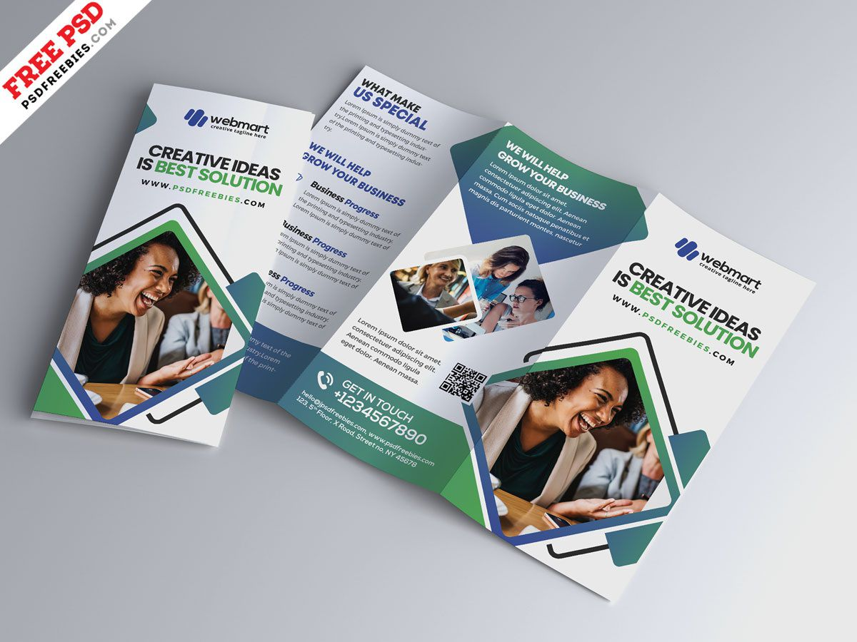 006 Incredible Photoshop Brochure Template Psd Free Download Picture Full